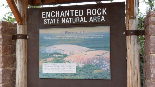 Map of Enchanted Rock